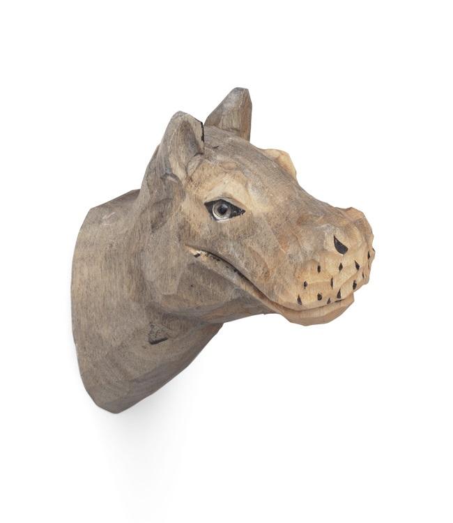 Ferm Living designové nástěnné věšáky Animal Hippo