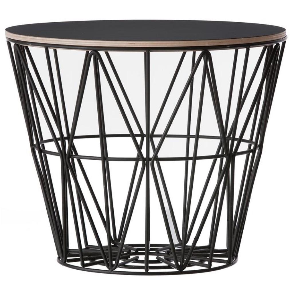Ferm Living designové úložné koše Wire Basket L