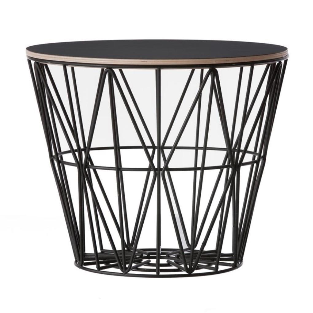 Ferm Living designové úložné koše Wire Basket M