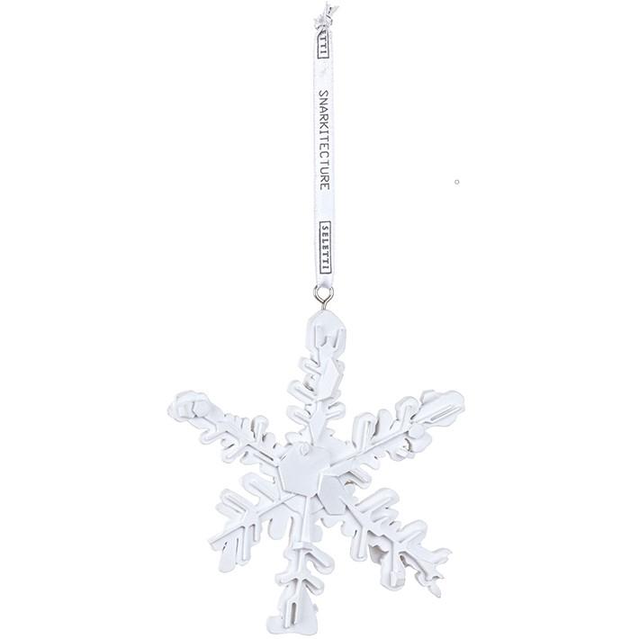 Seletti designové vánoční dekorace Snowflake Ornament