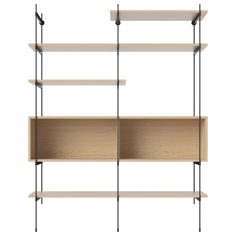 Bolia designové knihovny ROD Shelf 06