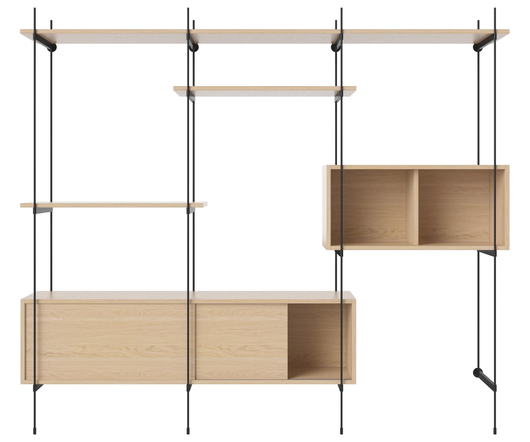 Bolia designové knihovny ROD Shelf 10