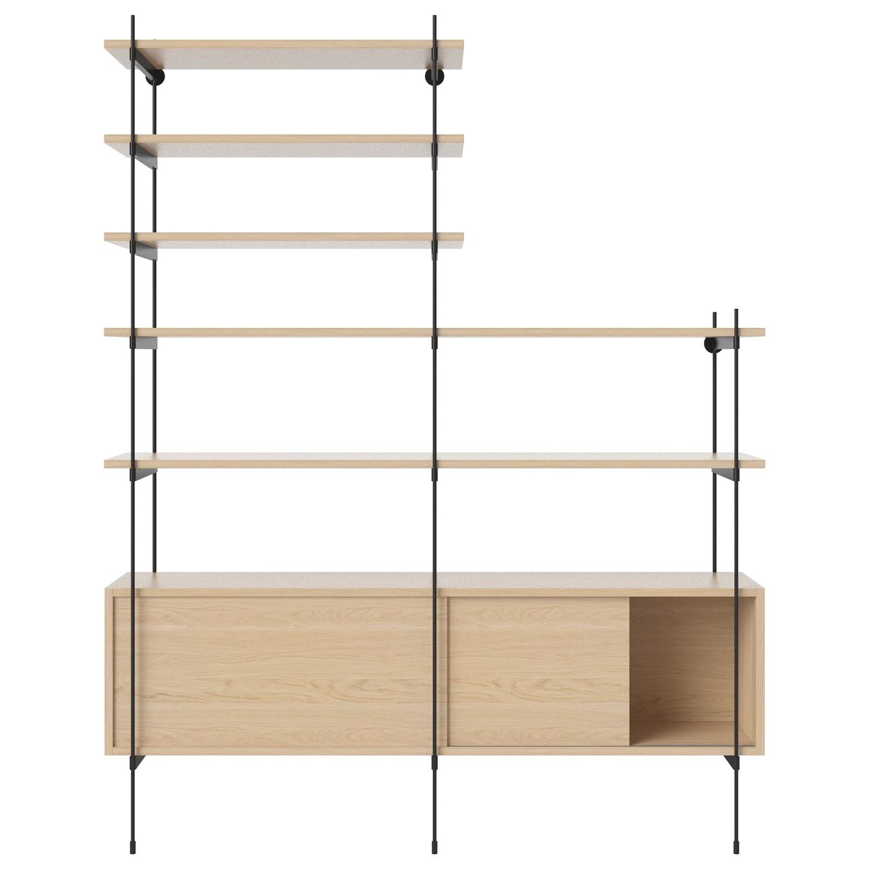 Bolia designové knihovny ROD Shelf 11
