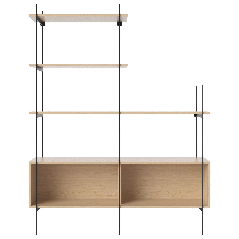 Bolia designové knihovny ROD Shelf 13