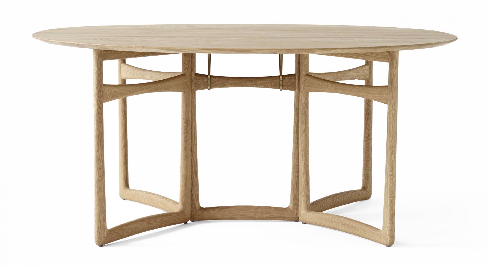 &Tradition designové jídelní stoly Drop Leaf HM6