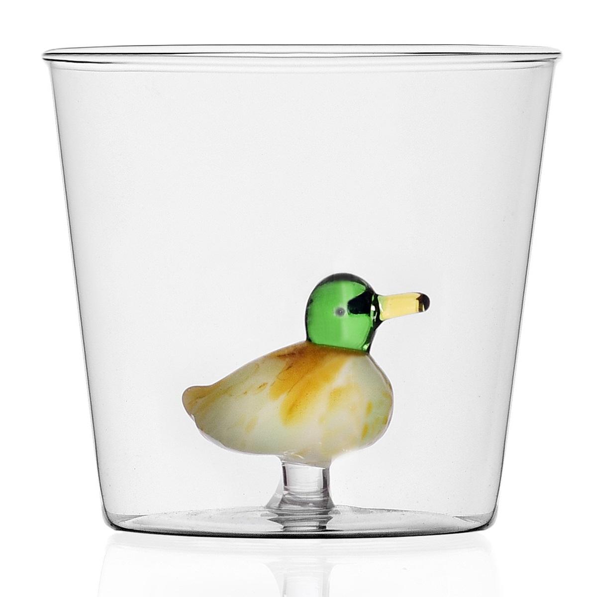 Ichendorf Milano designové sklenice na vodu Animal Farm Tumbler Duck