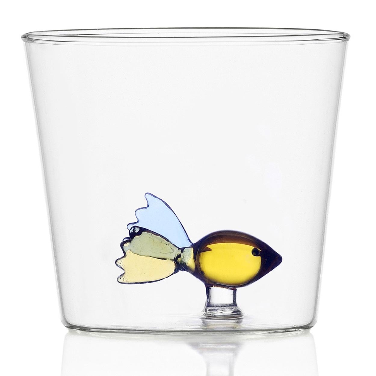 Ichendorf Milano designové sklenice na vodu Animal Farm Tumbler Fish
