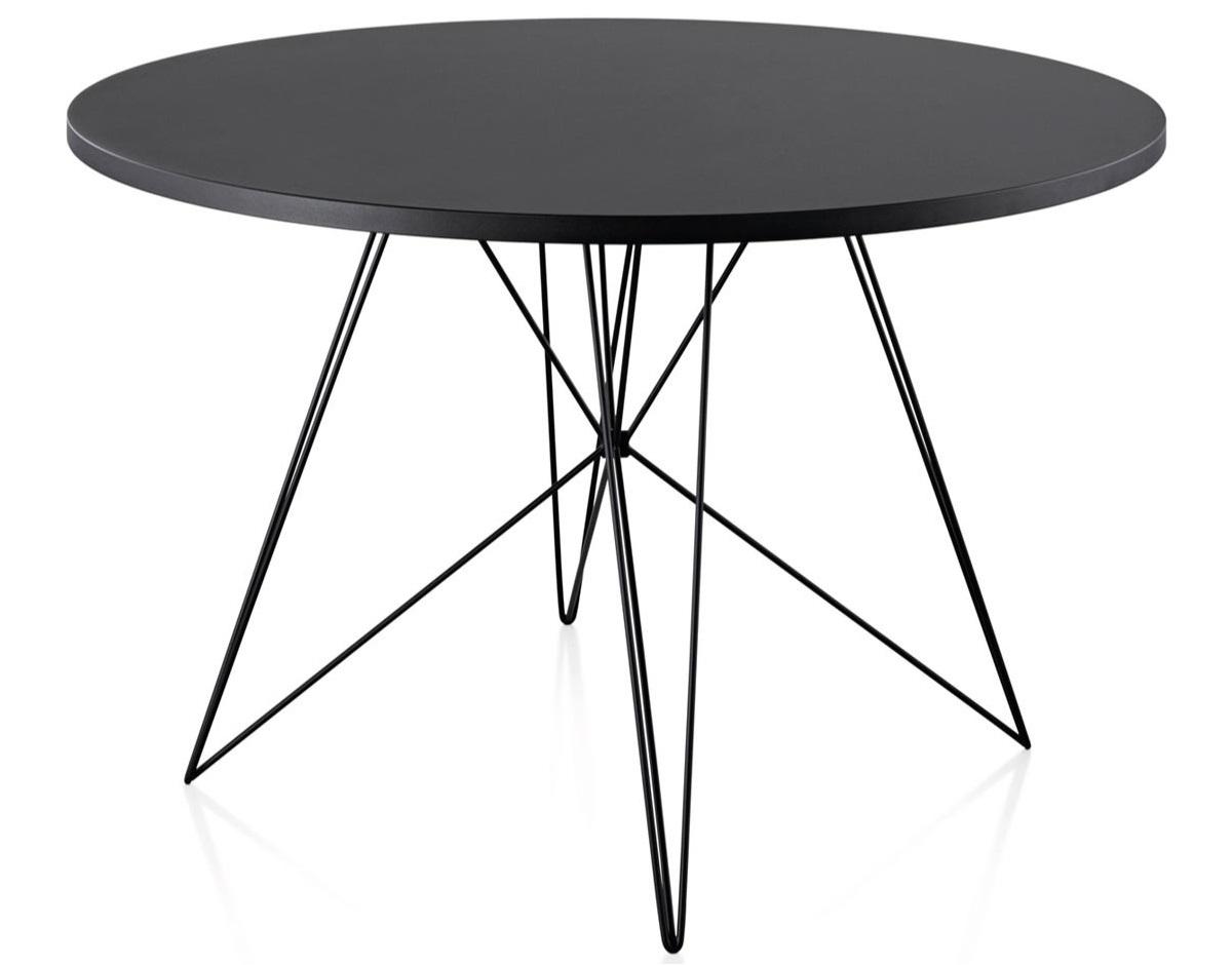 Výprodej Magis designové jídelní stoly XZ3 kulaté (černá)