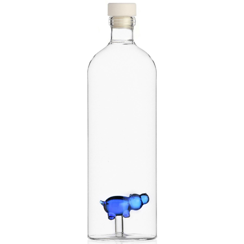 Ichendorf Milano designové karafy Animal Farm Bottle with Hippo