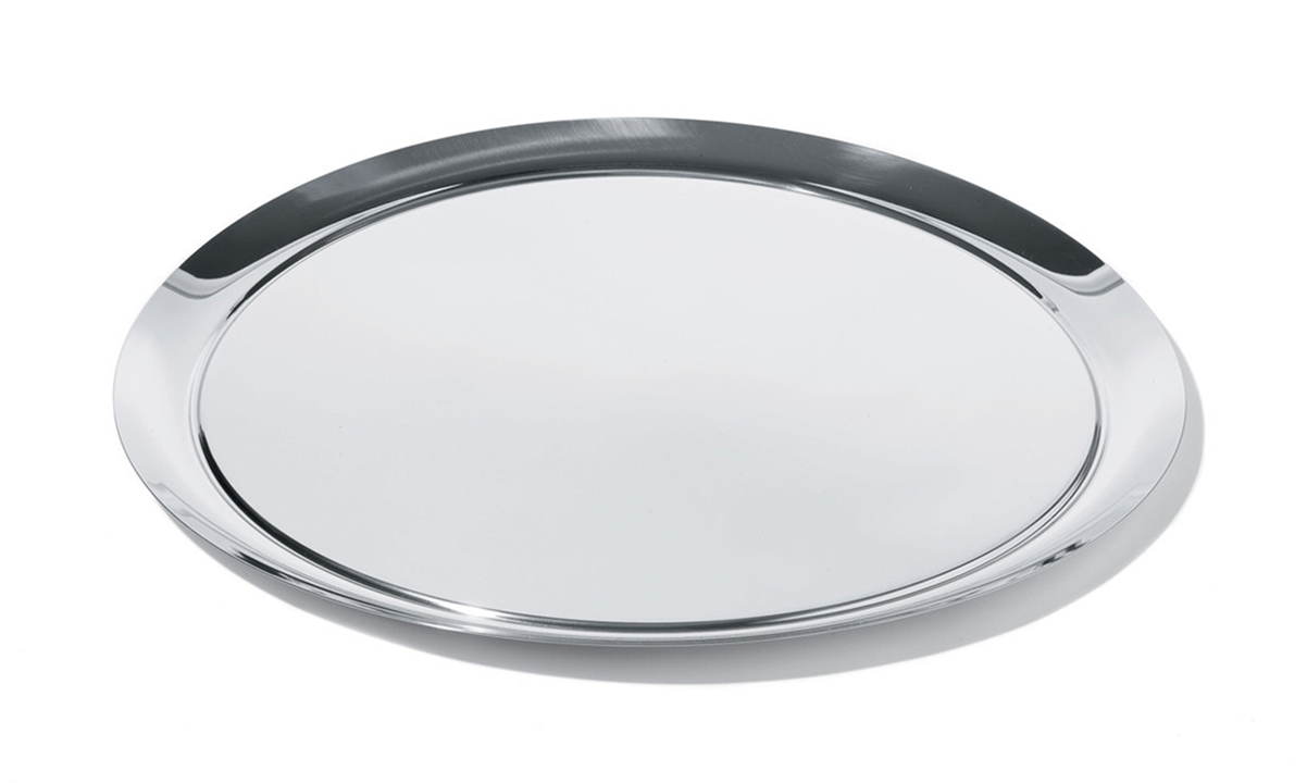 Alessi designové podnosy Round Tray (průměr 32, 5 cm)