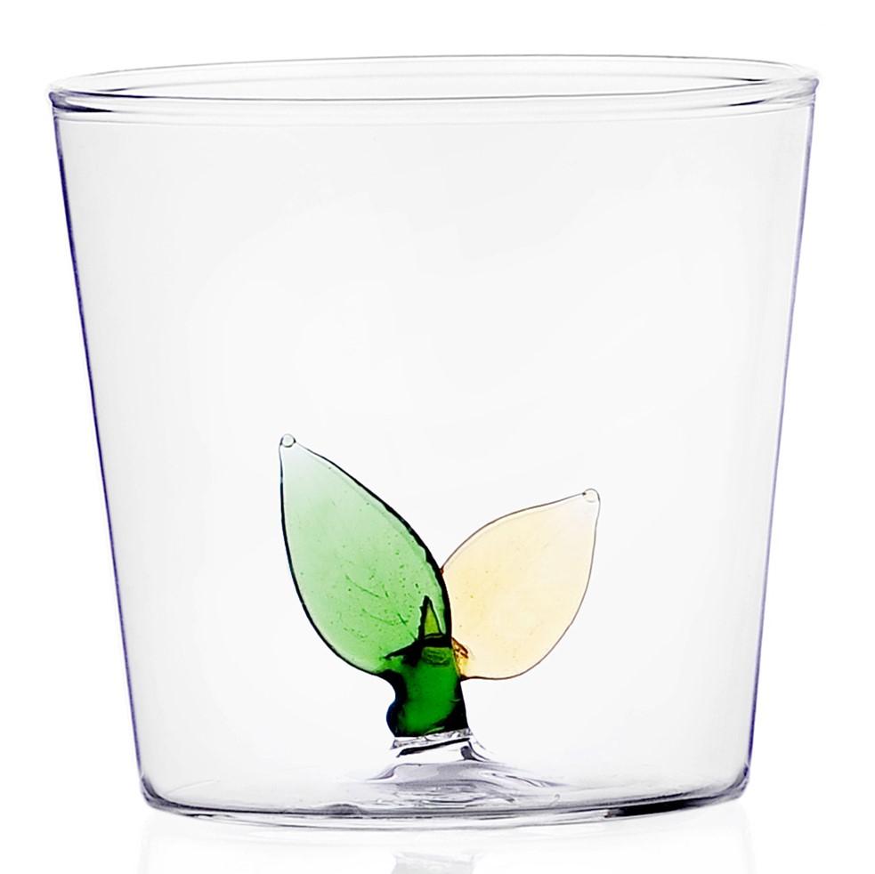 Ichendorf Milano designové sklenice na vodu Greenwood Leafs Tumbler