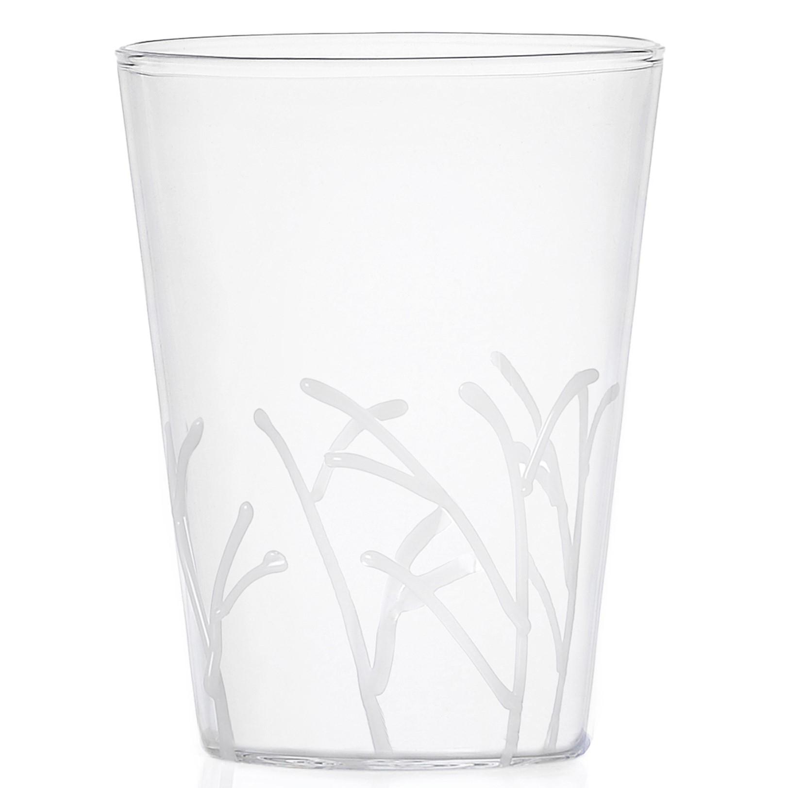 Ichendorf Milano designové sklenice na vodu Greenwood White Branches Long Drink