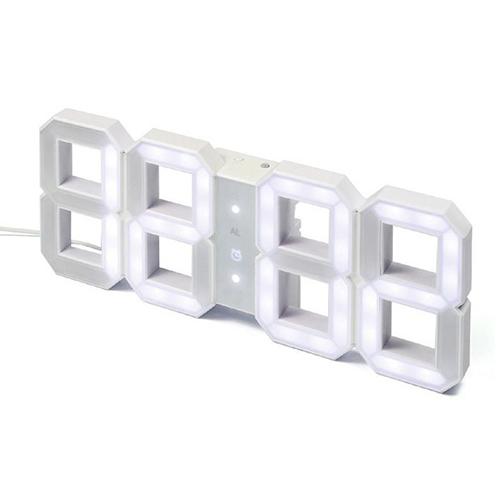 Výprodej Designové nástěnné hodiny Kibardin Clock (bílá)