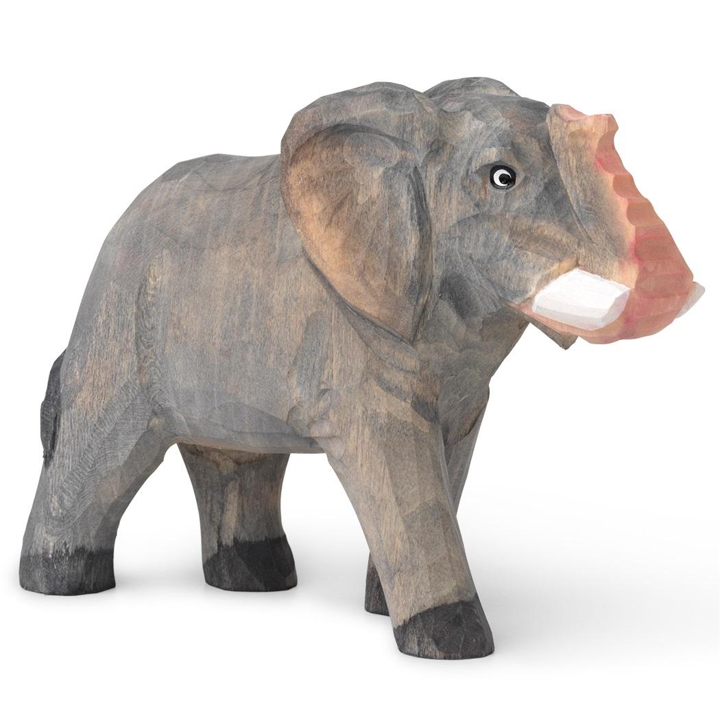 Ferm Living designové dřevěné hračky Animal Elephant