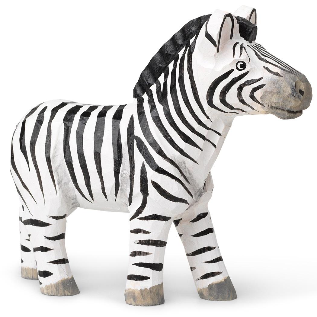 Ferm Living designové dřevěné hračky Animal Zebra