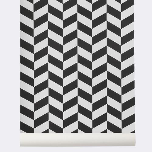Ferm Living designové tapety Angle