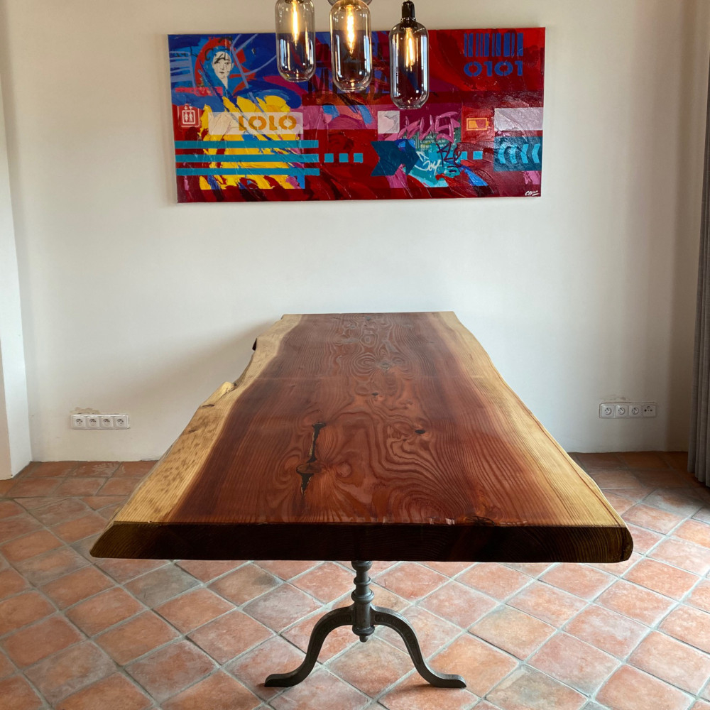 Výprodej designové jídelní stoly Rough Table Sequoia 222cm