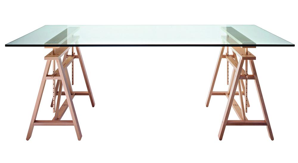 Magis výškově nastavitelné stoly Teatro