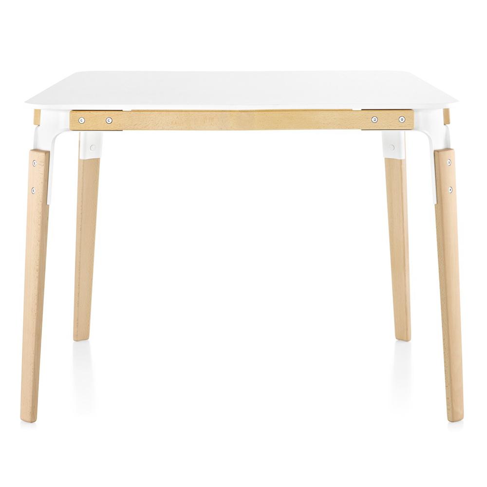 Magis jídelní stoly Steelwood Table Square (145 x 76 x 145 cm)
