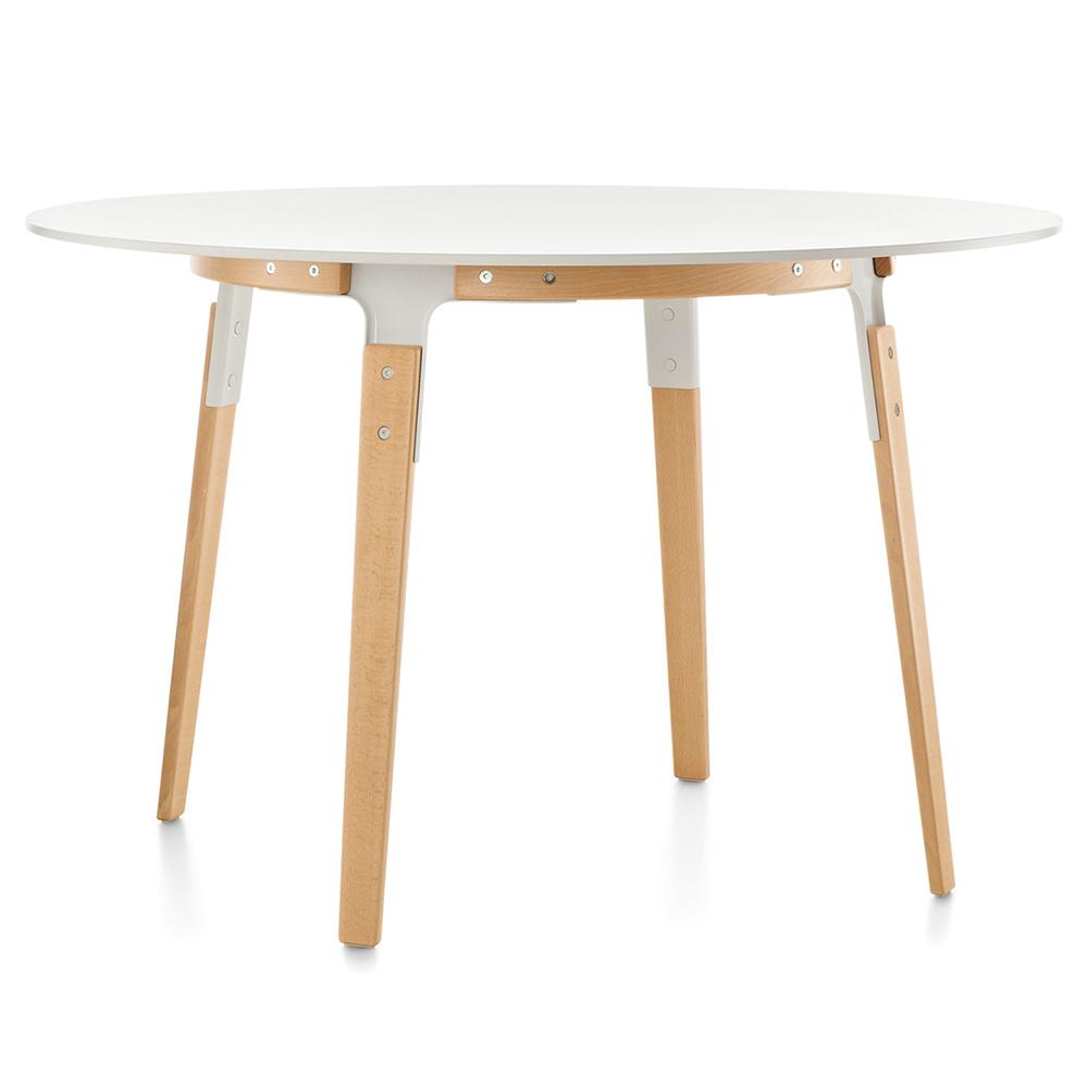 Magis jídelní stoly Steelwood Table Round