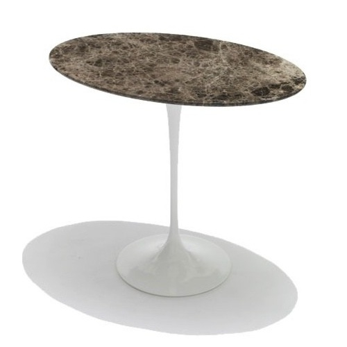 KNOLL odkládací stolky Tulip Side Table oválné