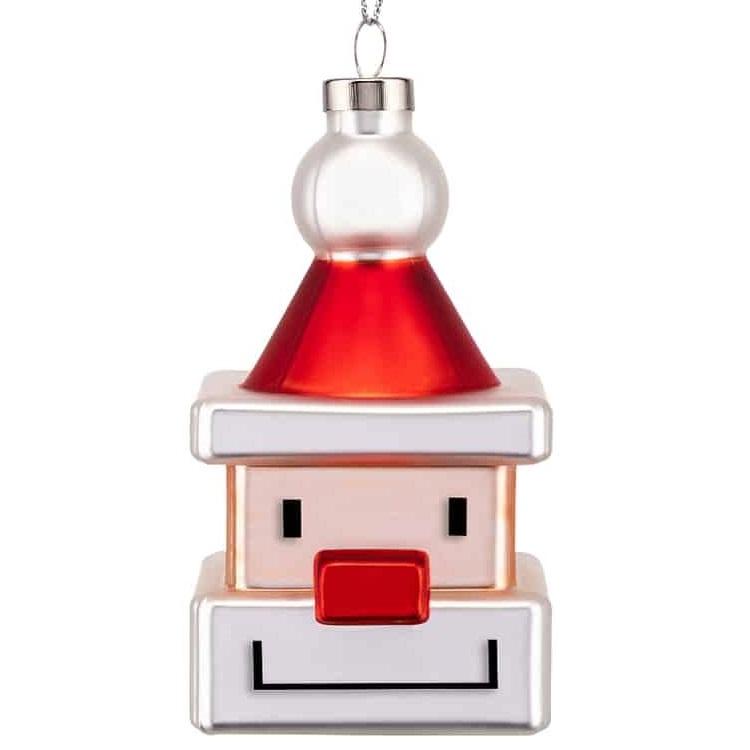 Alessi designové vánoční ozdoby Santa Cube