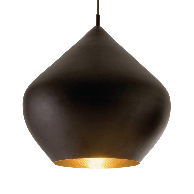 Výprodej Tom Dixon designové závěsná svítidla Beat Stout Pendant (černá, zlatá)