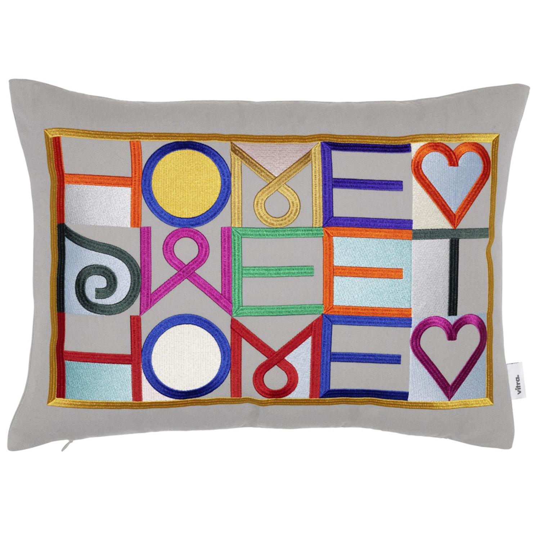 Vitra designové polštáře Embroidered Pillows Home Sweet Home