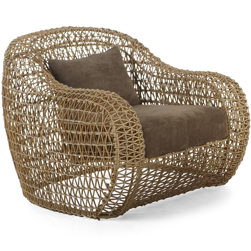 Kenneth Cobonpue křesla Balou Easy Armchair