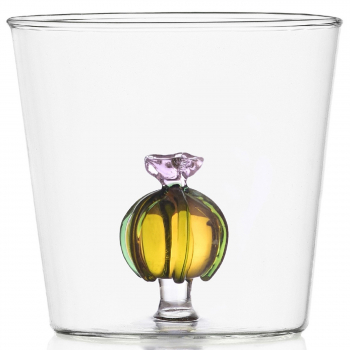 Designové sklenice na vodu Desert Plants Tumbler Cactus Pink Flower