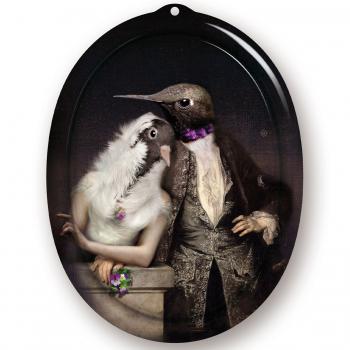 Designové moderní obrazy IBRIDE The Lovebirds