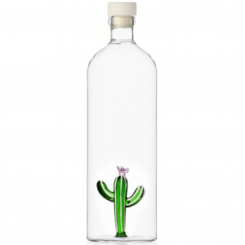 Designové karafy Desert Plants Bottle with Cactus