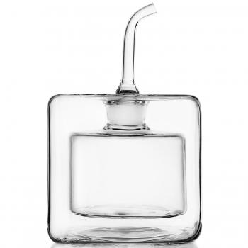 Designové nádoby na olej a ocet Cube