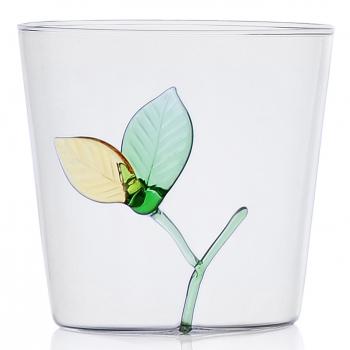 Designové sklenice na vodu Greenwood Leaf Tumbler