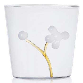 Designové sklenice na vodu Greenwood White Berries