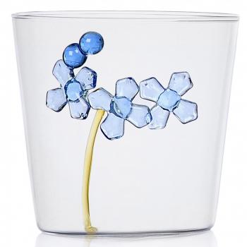 Designové sklenice na vodu Greenwood Blue Flower