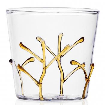 Designové sklenice na vodu Greenwood Amber Branches Tumbler