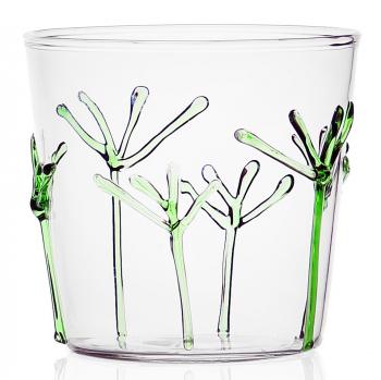 Designové sklenice na vodu Greenwood Green Branches Tumbler