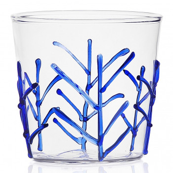 Designové sklenice na vodu Greenwood Blue Branches Tumbler