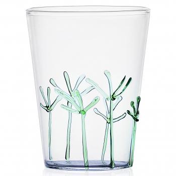Designové sklenice na vodu Greenwood Green Branches Long Drink