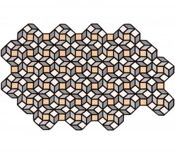 Designové koberce Parquet Rhomb