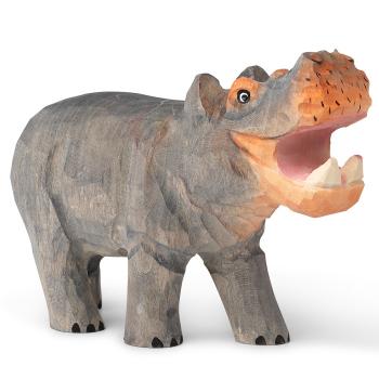 Designové dřevěné hračky Animal Hippo
