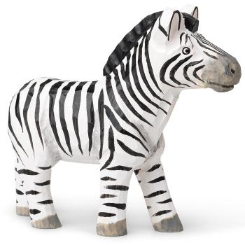 Designové dřevěné hračky Animal Zebra