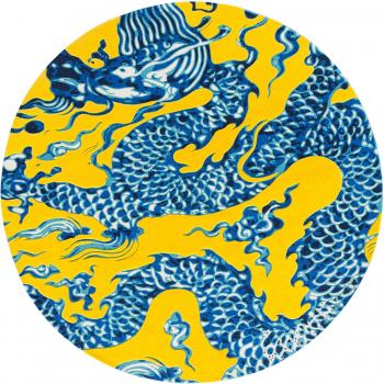Designové koberce Blue China