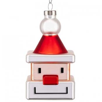 Designové vánoční ozdoby Santa Cube
