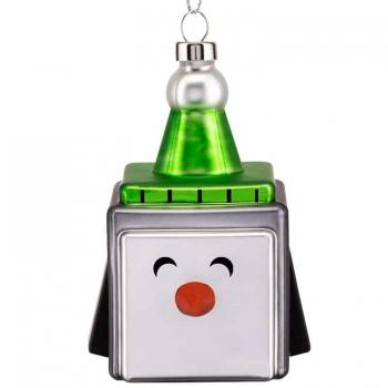 Designové vánoční ozdoby Cubic Penguin