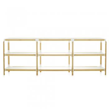 Designové regály Steelwood Shelf System