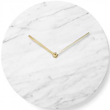 Designové nástěnné hodiny Marble Wall Clock