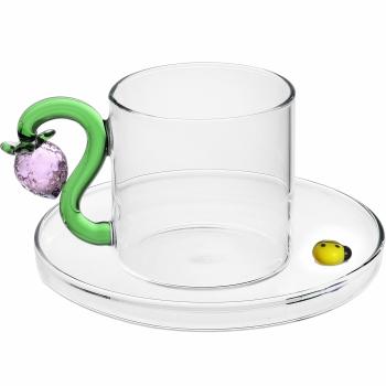 Designové šálky na kávu Fruits & Flowers Coffee Cup Strawberry