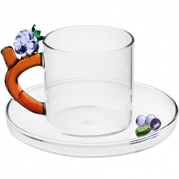 Designové šálky na kávu Fruits & Flowers Coffee Cup Blackberry